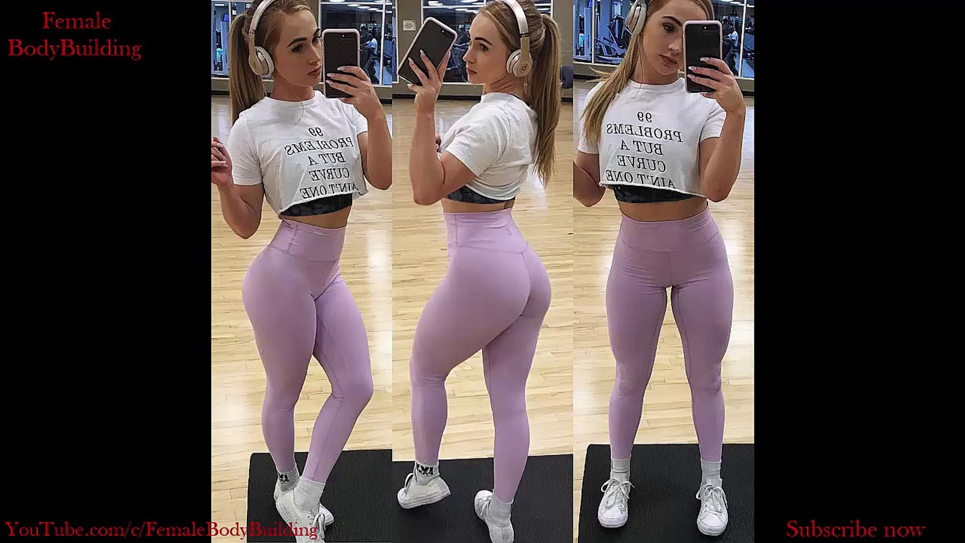 Shaniah Dipuccio (shaniahfit ) Beautiful Fitness Girl's Back and Legs Workout Day.