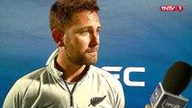 ⚽ OFC U-19 FINALE NLLE ZELANDE vs TAHITI - Interview du coach de l'équipe de Nouvelle-Zélande.