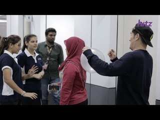 Don't Look Back Challenge w Vidushi & Rishyaa (SCHOOL OF HITZ)