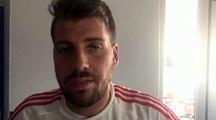 Coupe de France - Sofiane BELARBI réagit après l'élimination de l'USF TARARE contre le FC PONTCHARRA