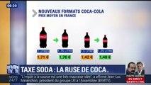 Des bouteilles plus petites et plus chères: la ruse de Coca pour compenser la taxe soda