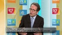 Gilles Le Gendre  sur le perchoir : « Richard Ferrand est l'homme de la situation. »