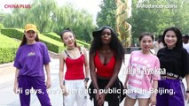 Watch as this group of professional Chinese dancers experience their first encounter with African dance moves. For more videos like this follow our #Afrodancein