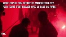 Olympiakos : Yaya Toure accueilli par des supporters en délire (et des fumis)
