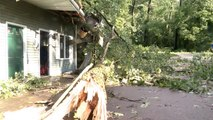 Severe storms batter the Midwest