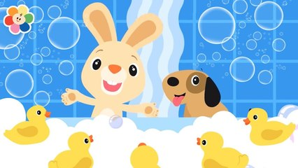 Bath Song | Nursery Rhymes And Baby Songs For Kids | Daily Routine With BabyFirst