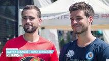 Padel : l'interview de Johan Bergeron et Bastien Blanqué, champions de  France de padel 2017