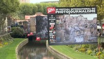"Perpignan recebe festival de fotojornalismo ""Visa pour l'image"""