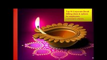 Top 10 best Corporate Diwali Gifts ideas for employees and customers