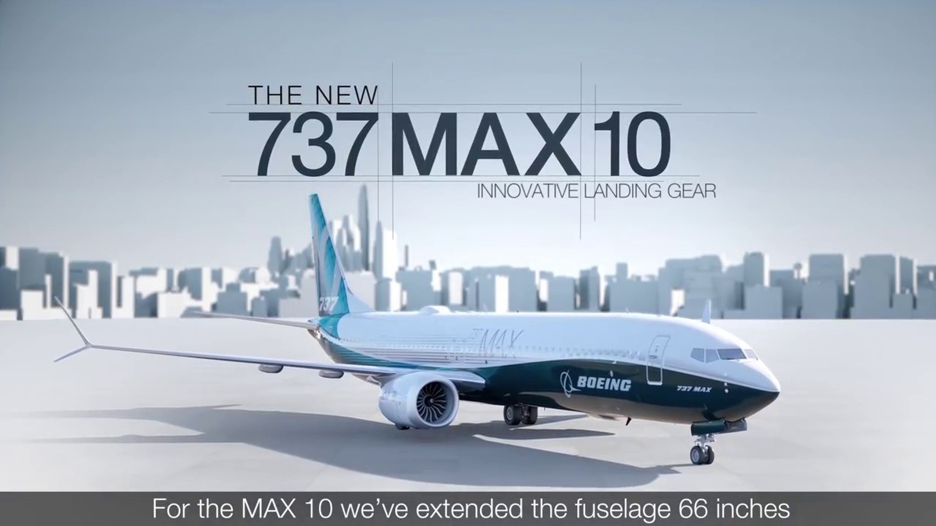 Boeing 737 MAX 10 Landing Gear