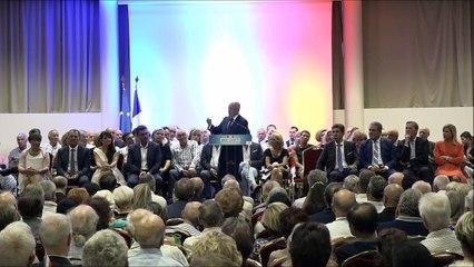 """Discours E.Ciotti 30/08/2018 """"Ensemble redressons les Républicains dans la fidélité à nos valeurs"""""""