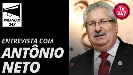 Entrevista com Antônio Neto, candidato do PDT-SP ao Senado