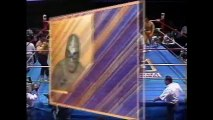 Aaron Grundy/Brazo de Plata/Brazo de Oro vs Hijo de Solitario/Gran Markus Jr/Cesar Dantes (CMLL August 8th, 1992)