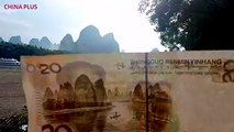 Tourists visit Xingping Town in Guangxi year round to see where the beautiful scenery from the back of the Chinese 20 yuan note comes from. While spring is the