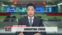 Argentina's Macri raises export taxes, slashes gov't ministries in bid to stabilize peso