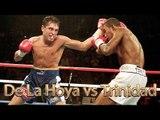Oscar De La Hoya vs Felix Trinidad (Highlights)