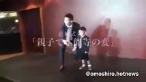 結婚式余興で「本能寺の変」を踊る親子!男の子が超かわいい♡あとお父さんがダンスうまいww