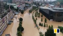 Severe floods strike southern China's Guangdong