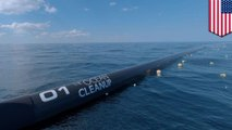 Ocean Cleanup aims to clean Great Pacific garbage patch by 2040