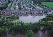Flash Floods Swamp Riley County, Kansas