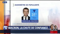 """ÉDITO - """"Le toboggan Macron est quasi parallèle au toboggan Hollande"""""""