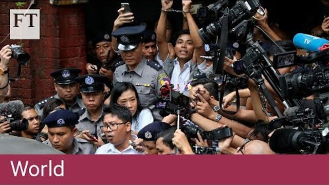 Myanmar finds Reuters journalists guilty of breaching state secrets law