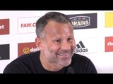 Wales Manager Ryan Giggs Announces UEFA League Of Nations Squad - Full Press Conference