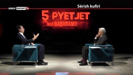 REPORT TV, 5 PYETJET NGA BABARAMO - I FTUAR ALBIN KURTI - PJESA E DYTE