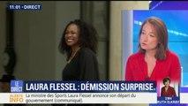 """Démission de Laura Flessel: la ministre des Sports évoque des """"raisons personnelles"""""""
