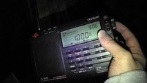 Updated AM Medium Wave Radio Band Scan In Clacton Essex in 2018 Night Time Sky Wave Signal