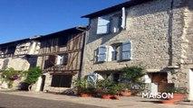 QUERCY - LAUZERTE - Maison au village avec 4 chambres, beau volumes
