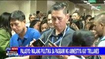 Palasyo: Walang pulitika sa pagbawi ng amnestiya kay Trillanes