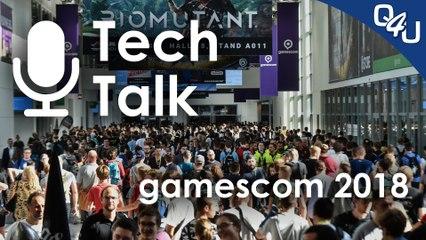 gamescom 2018: Total War, Anno 1800, Assassin's Creed Odyssey, Battlefield 5 - Tech Talk #7
