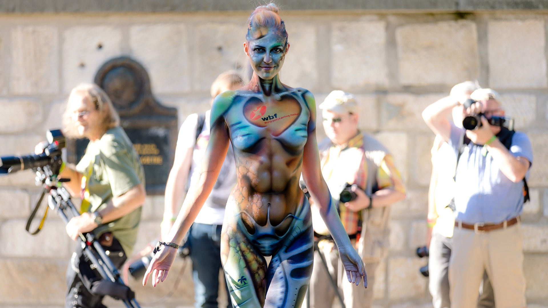 World Bodypainting Festival 2018 Video Dailymotion