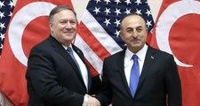 Son Dakika! Dışişleri Bakanı Mevlüt Çavuşoğlu, ABD Dışişleri Bakanı Pompeo ile Görüştü