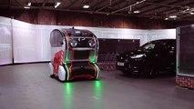 Les yeux virtuels des appareils d'étude du comportement des voitures  autonomes et piétons de Jaguar Land Rover
