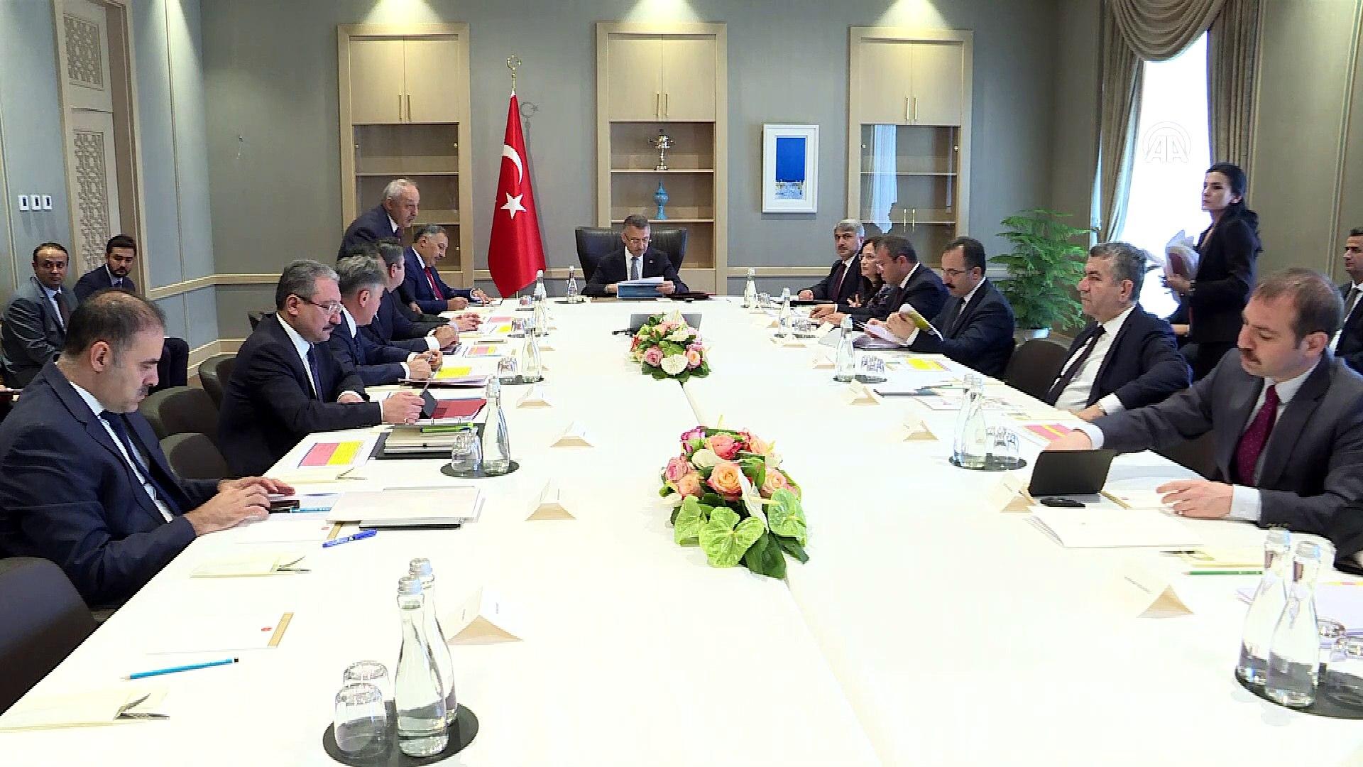 Suriye Koordinasyon Toplantısı Oktay başkanlığında yapıldı - ANKARA