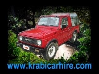 Krabi car rent, your friendly Krabi car