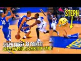 Steph Curry Hits CRAZY 3, Celebrates TOO EARLY & Pays The Price!  Warriors Crazy Exhibition Game!
