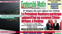 Le Titrologue du 03 Septembre 2018 : Parti unifié RHDP, Comment Bédié a sacrifié Duncan, Ahoussou, Diby, Achi et Adjoumani