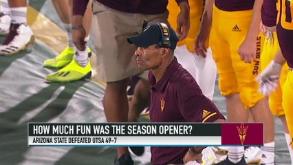 Herm Edwards Discusses His First Win With Arizona State and Star WR N'Keal Harry