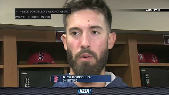 Red Sox First Pitch: Rick Porcello Embraces Hitting