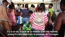 Saint-Martin fait sa rentrée des classes, un an après Irma