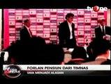 Diego Forlan Pensiun dari Timnas Uruguay
