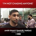 """""""A stadium fight is within touching distance and within the next six months I believe it will happen."""" Watch Amir Khan against Samuel Vargas, from the Arena"""