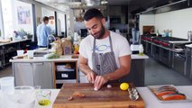 Andy Makes Grilled Salmon with Lemon Sauce   From the Test Kitchen   Bon Appétit