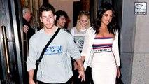 Priyanka Chopra & Nick Jonas On A Double Date With Joe Jonas & Sophie Turner