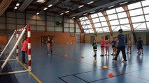 Baby handball le mercredi de 10h à 11h30 salle Leo Lagrange