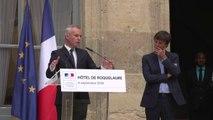 Discours de François de Rugy lors de la passation de pouvoir avec Nicolas Hulot