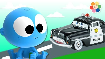 GooGoo Baby New Series - Colors For Children To Learn With Police Car | Learn Colors For kids